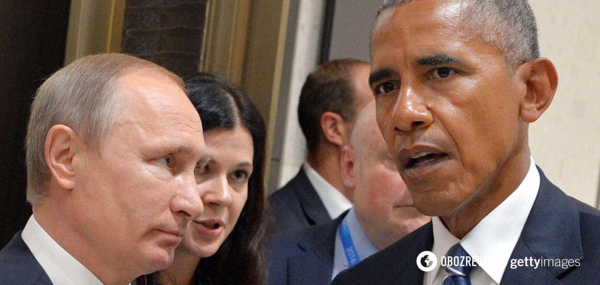 Обама назвал Путина 'жестким уличным боссом', а Медведева – 'стилягой в костюме'