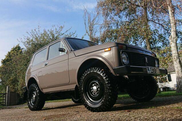 Британец выставил на продажу Lada Niva с мотором FIAT