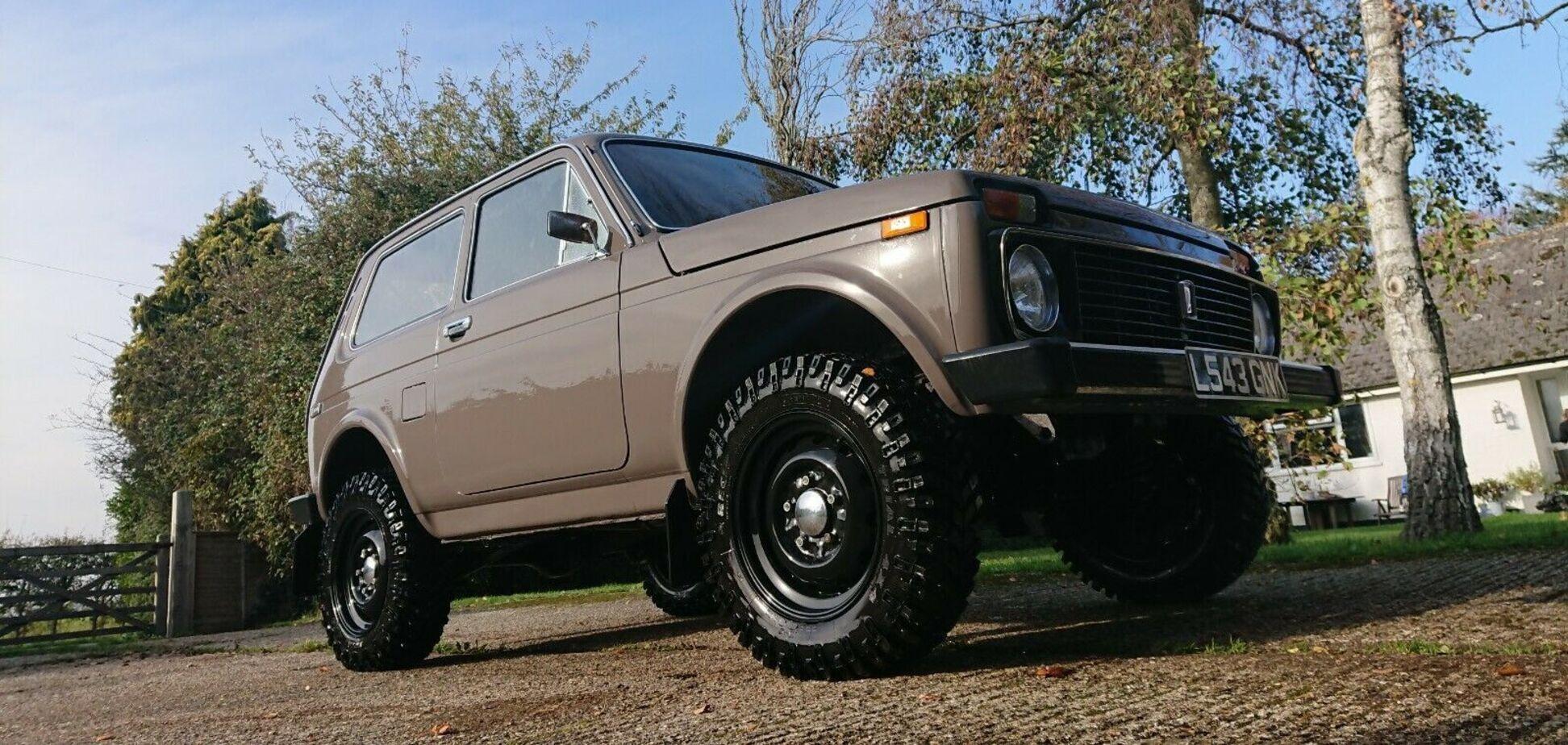 Британець виставив на продаж Lada Niva з мотором FIAT