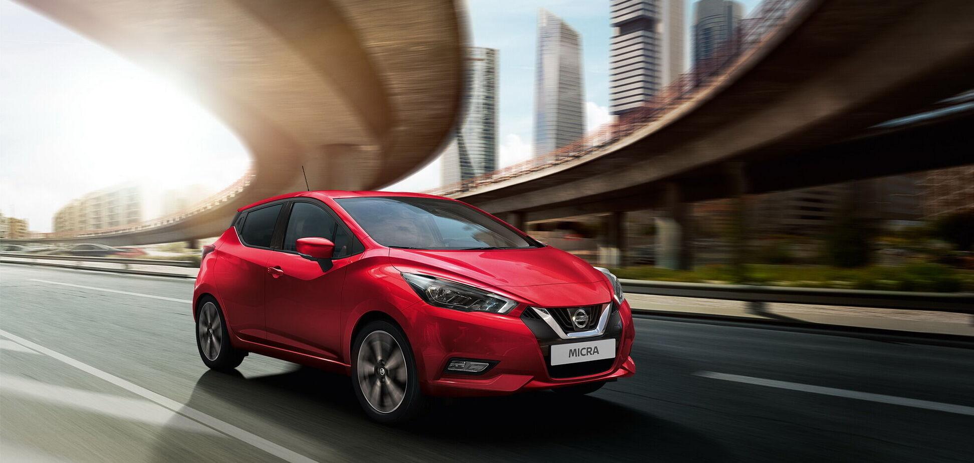 Nissan обновил популярную компактную модель Micra