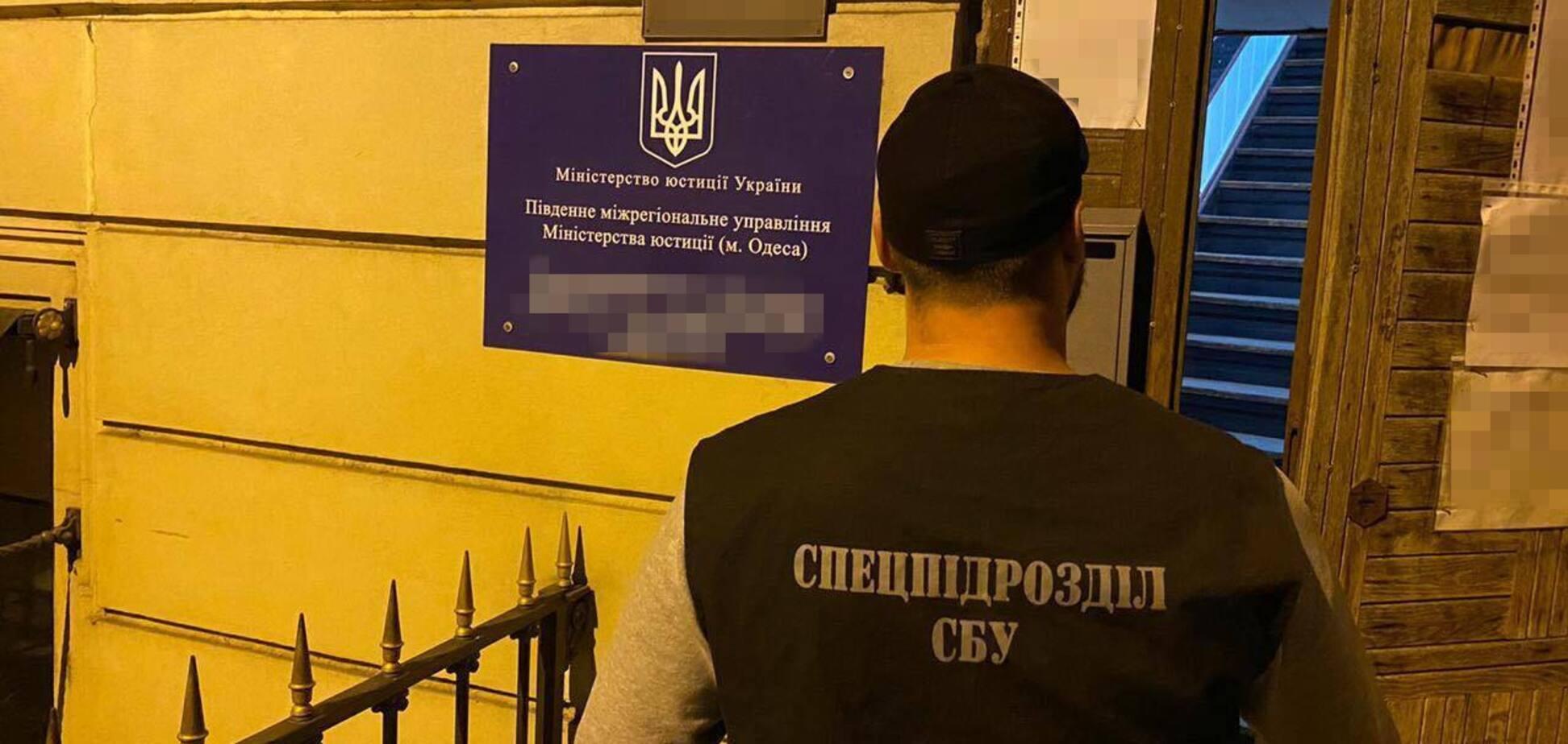 Названо найбільш резонансні справи СБУ в Одеській області першої половини листопада