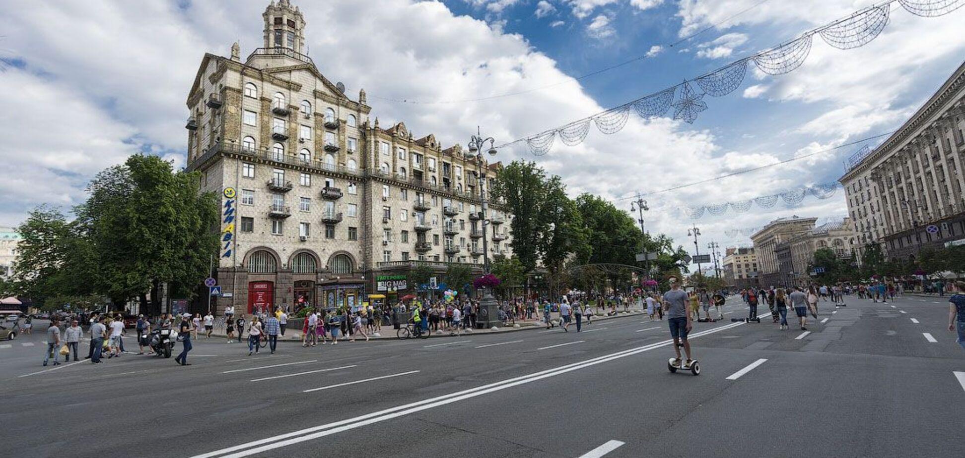 У Києві 'мінували' метро: на центральних станціях зібралися натовпи. Фото