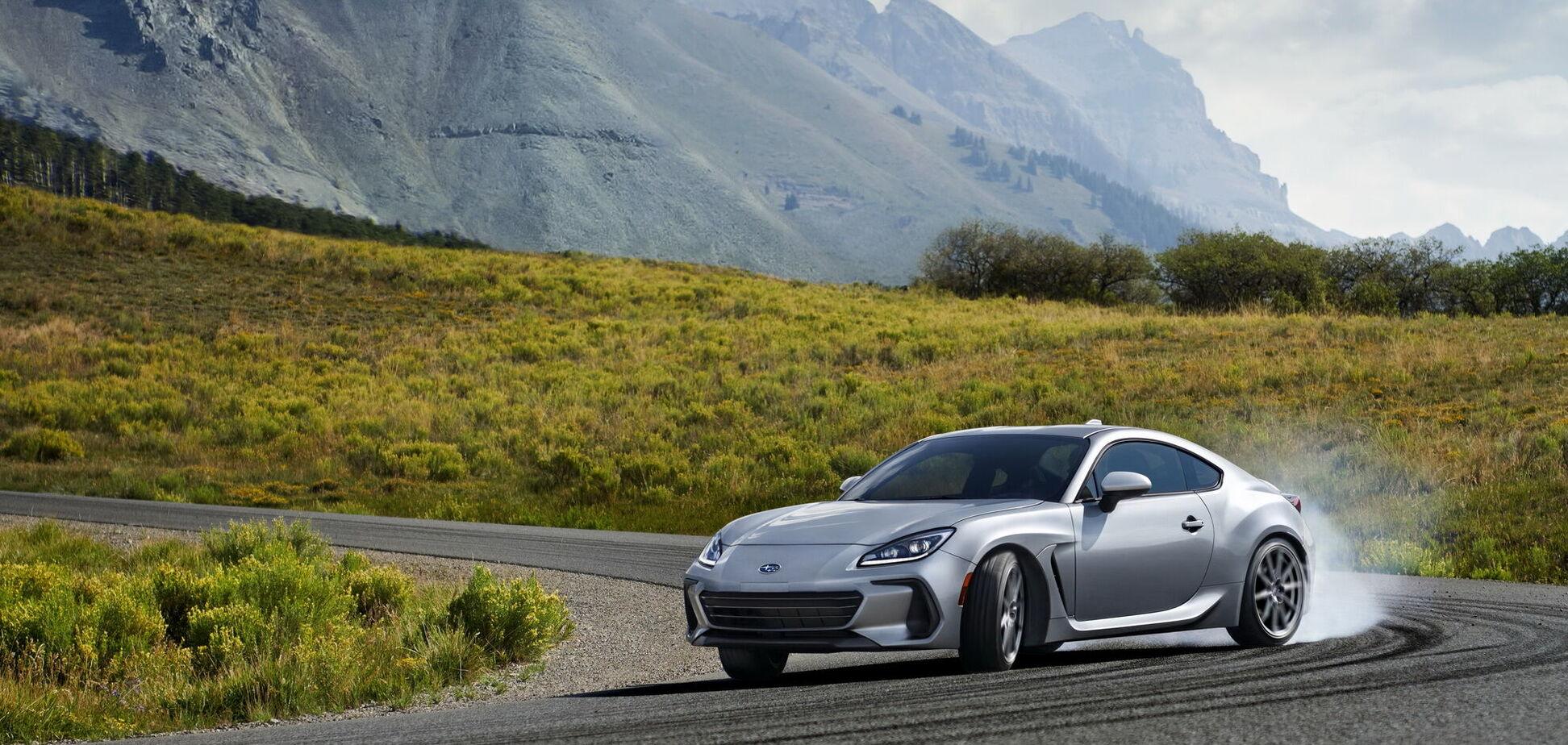 Subaru презентовала новую генерацию купе BRZ