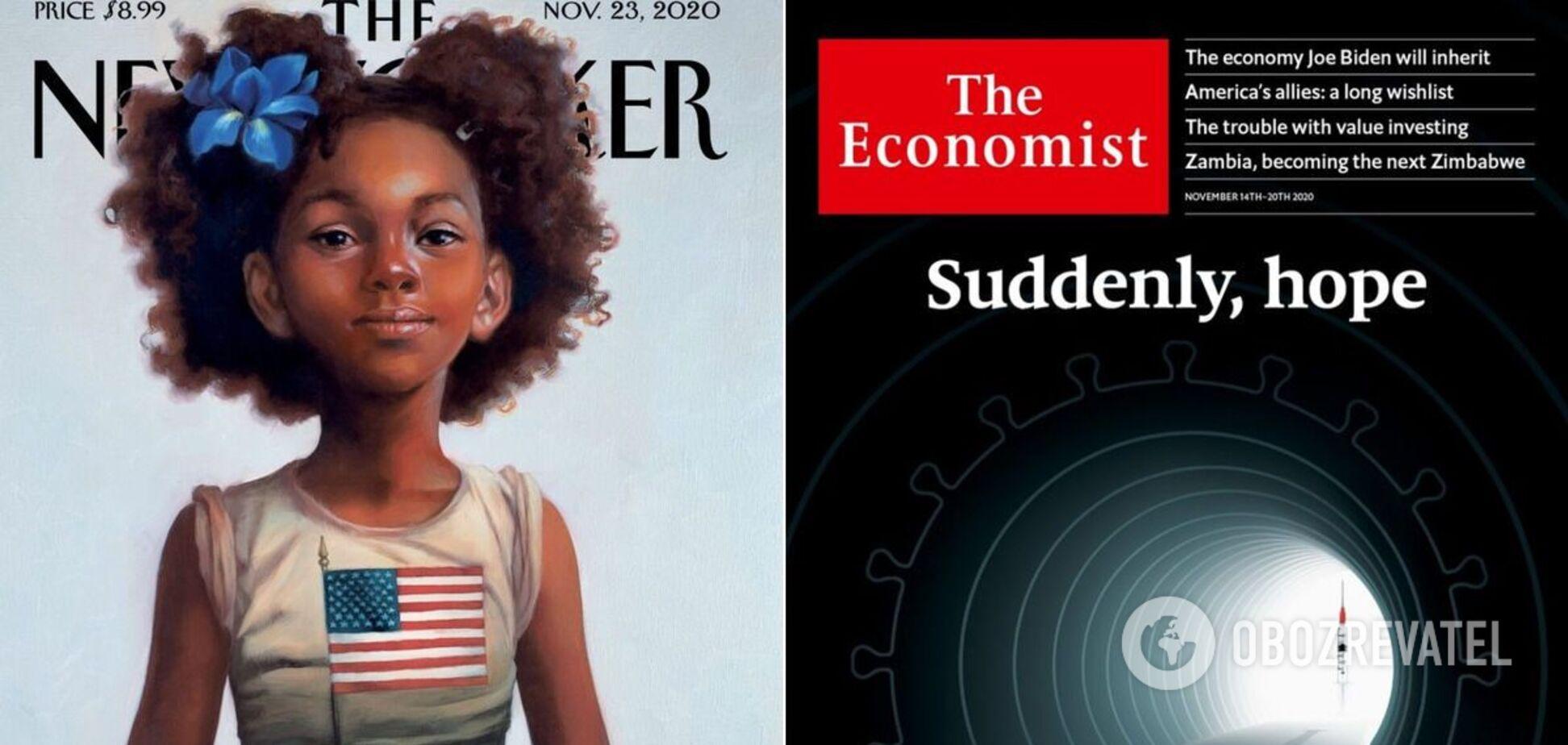 Американські журнали присвятили обкладинки виборів і вакцині від коронавируса