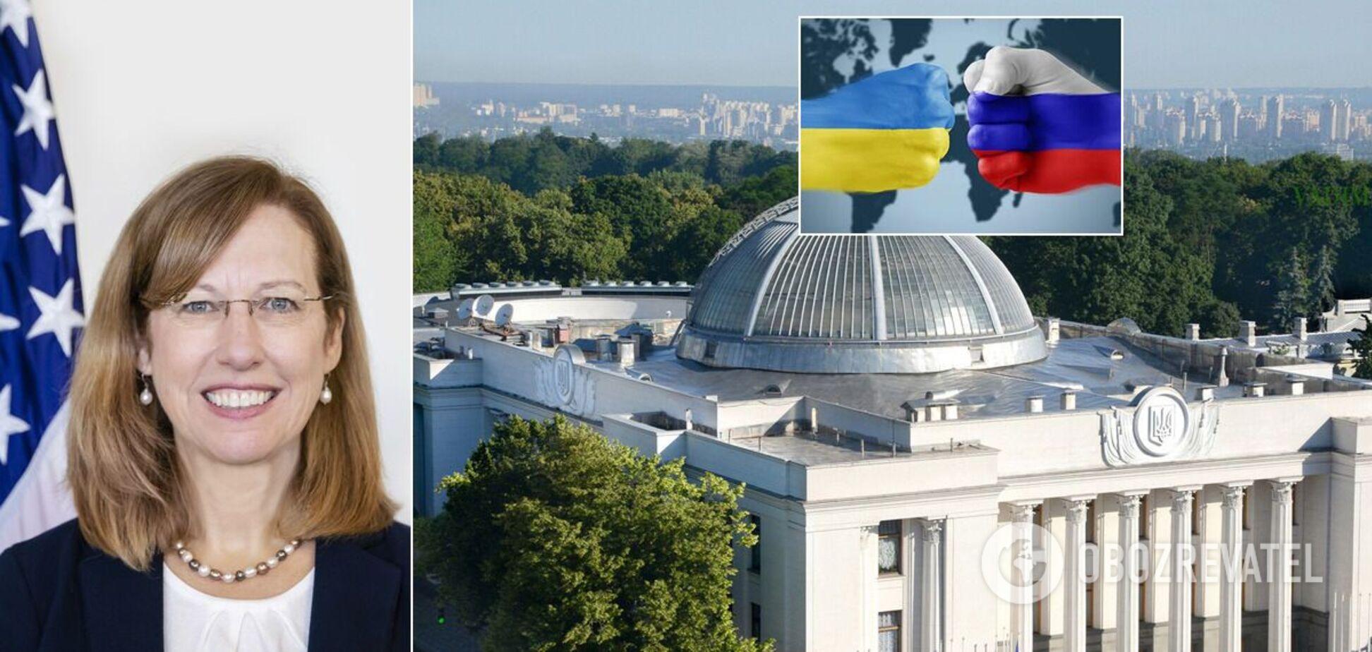 Квін вказала на союзників РФ в українському парламенті