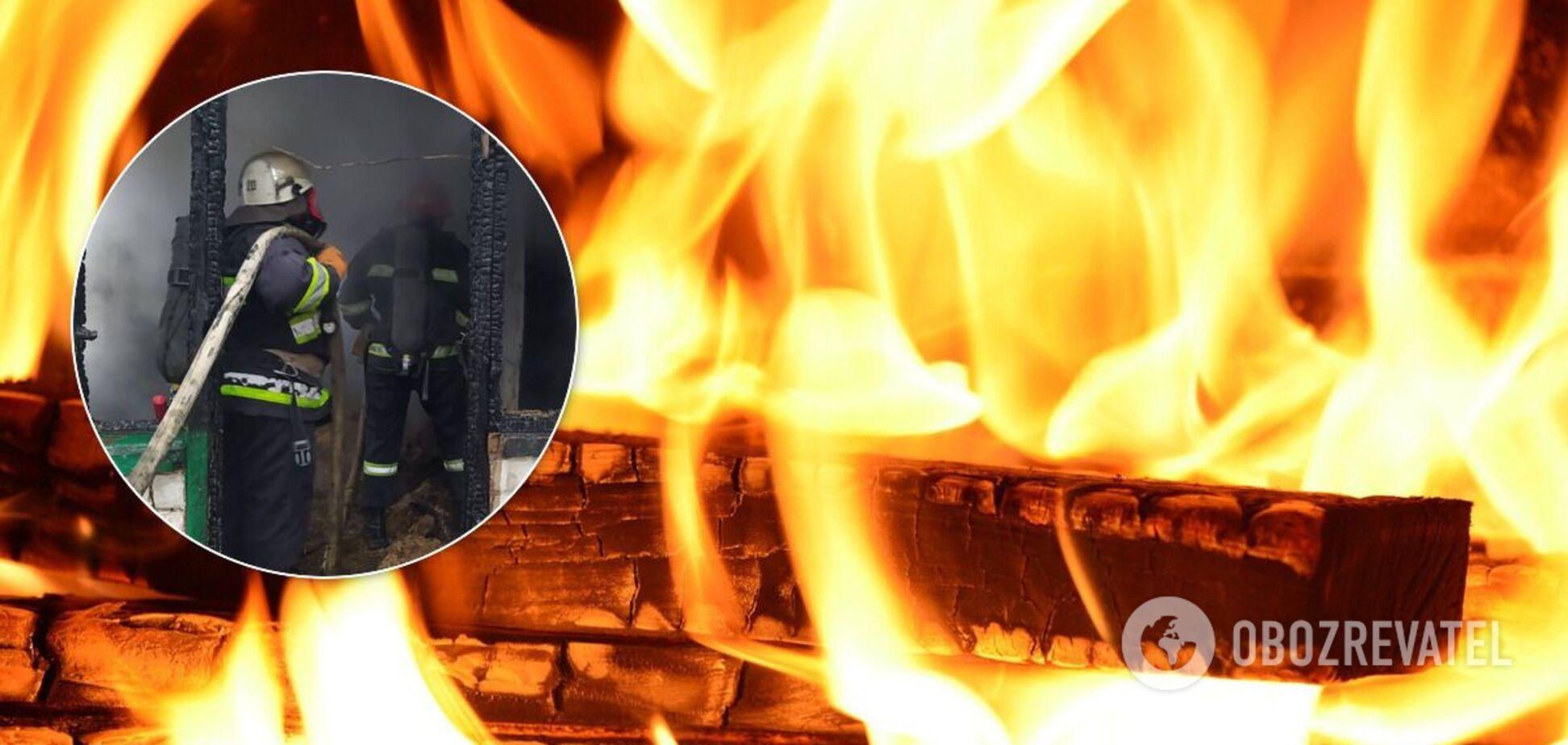 На Кировоградщине в пожаре сгорели четыре человека