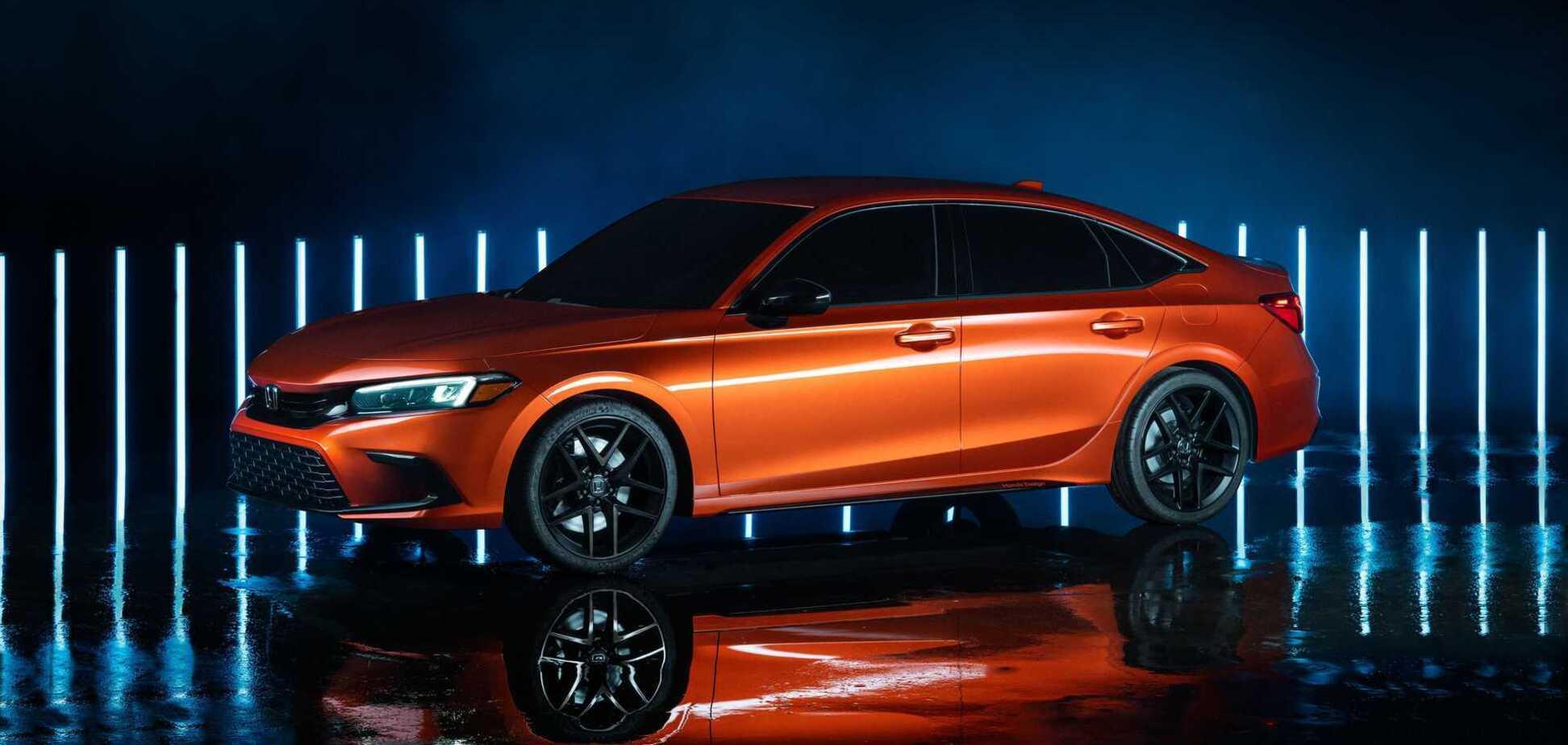 Представлен новый Honda Civic 11 поколения