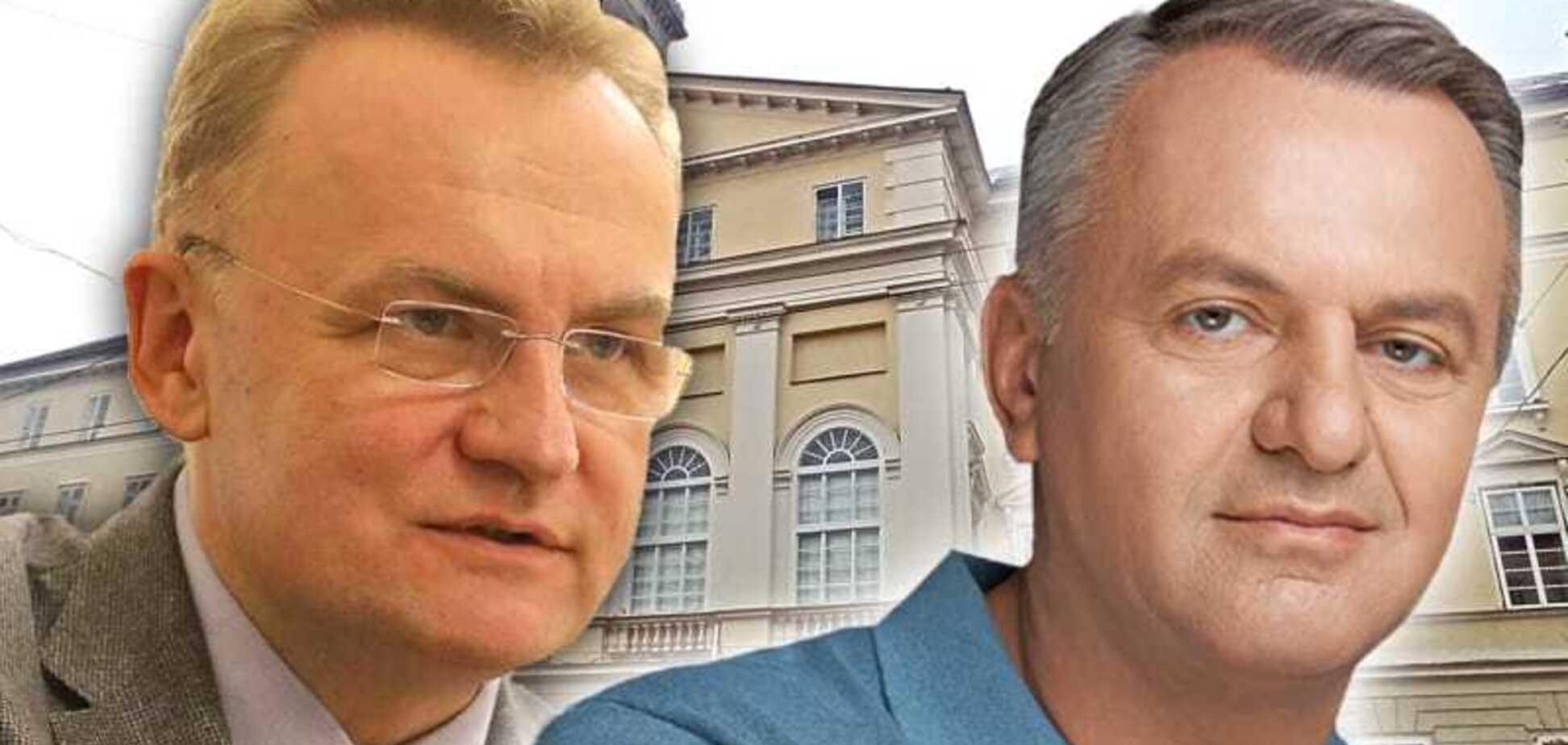 Синютка во втором туре выборов мэра Львова побеждает Садового — 'Социс'