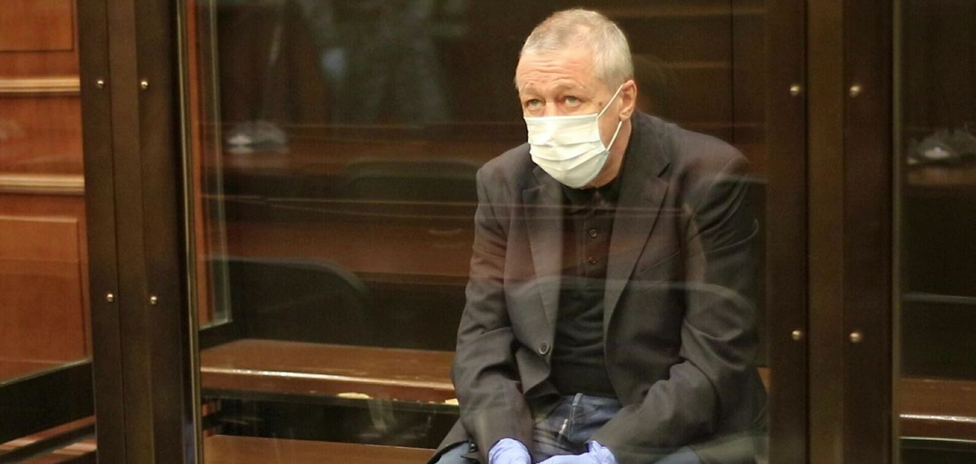 Єфремов буде відбувати покарання в колонії в Бєлгородській області