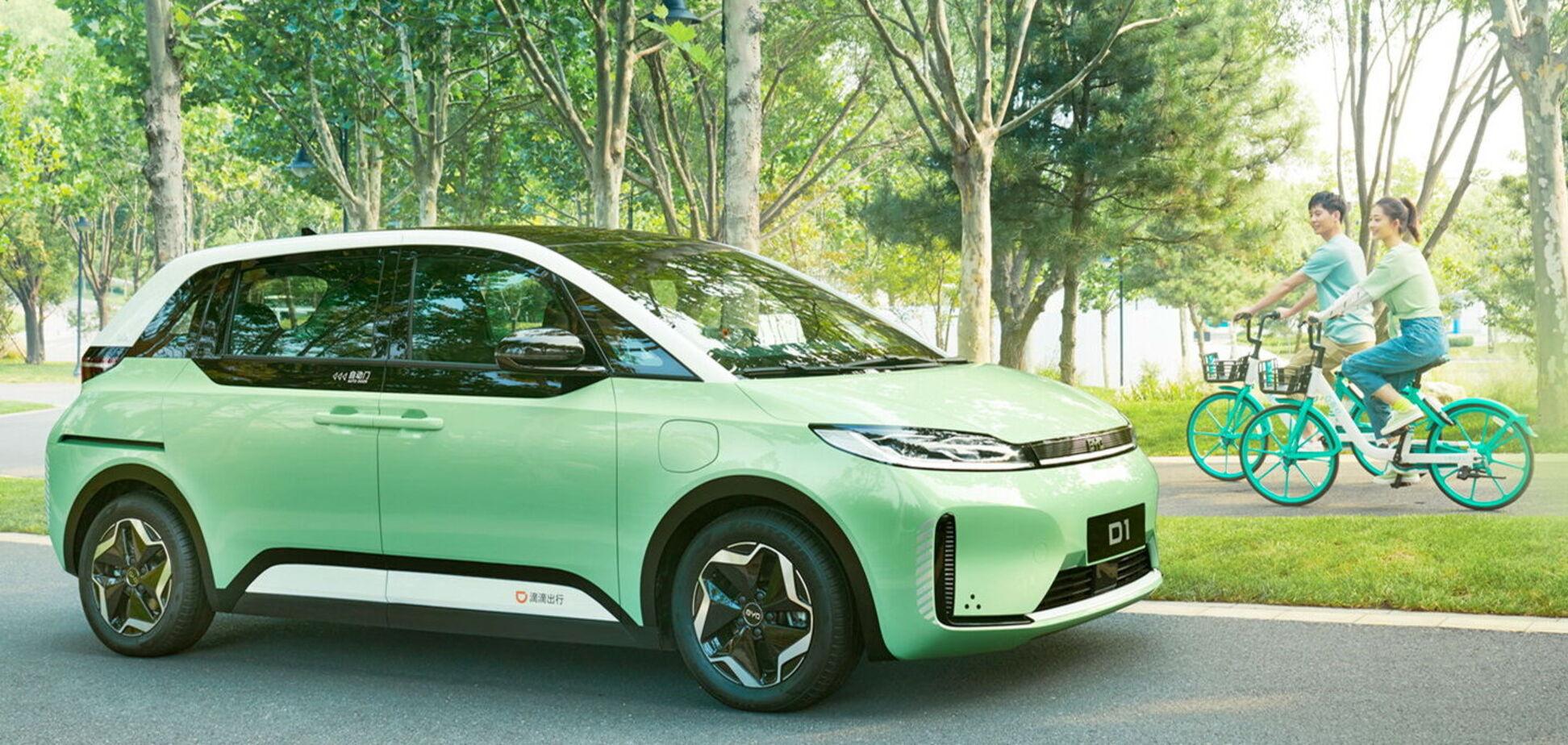 BYD представили електро-таксі для китайського Uber
