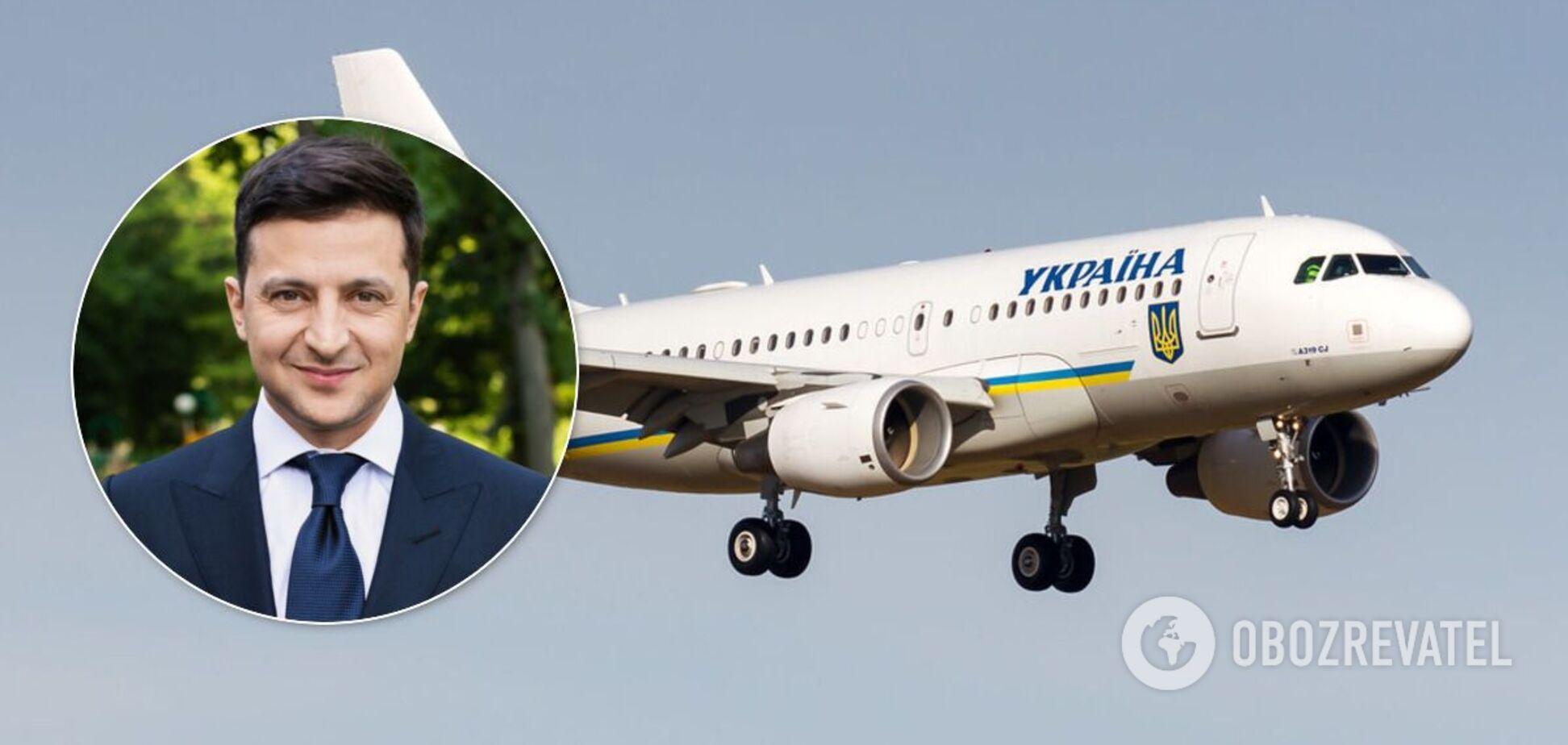 В Госспецсвязи передумали проводить интернет в самолете Зеленского за 32 млн