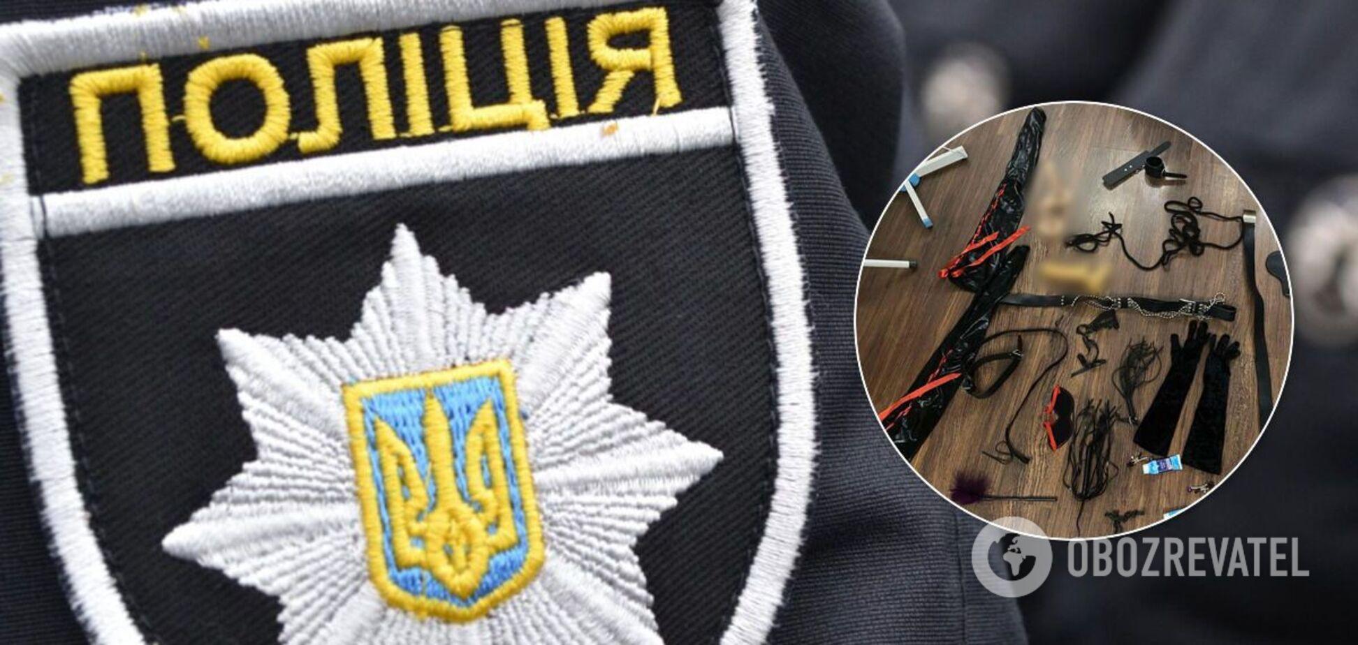 На Харківщині поліція 'накрила' бордель, який маскували під масажний кабінет. Фото