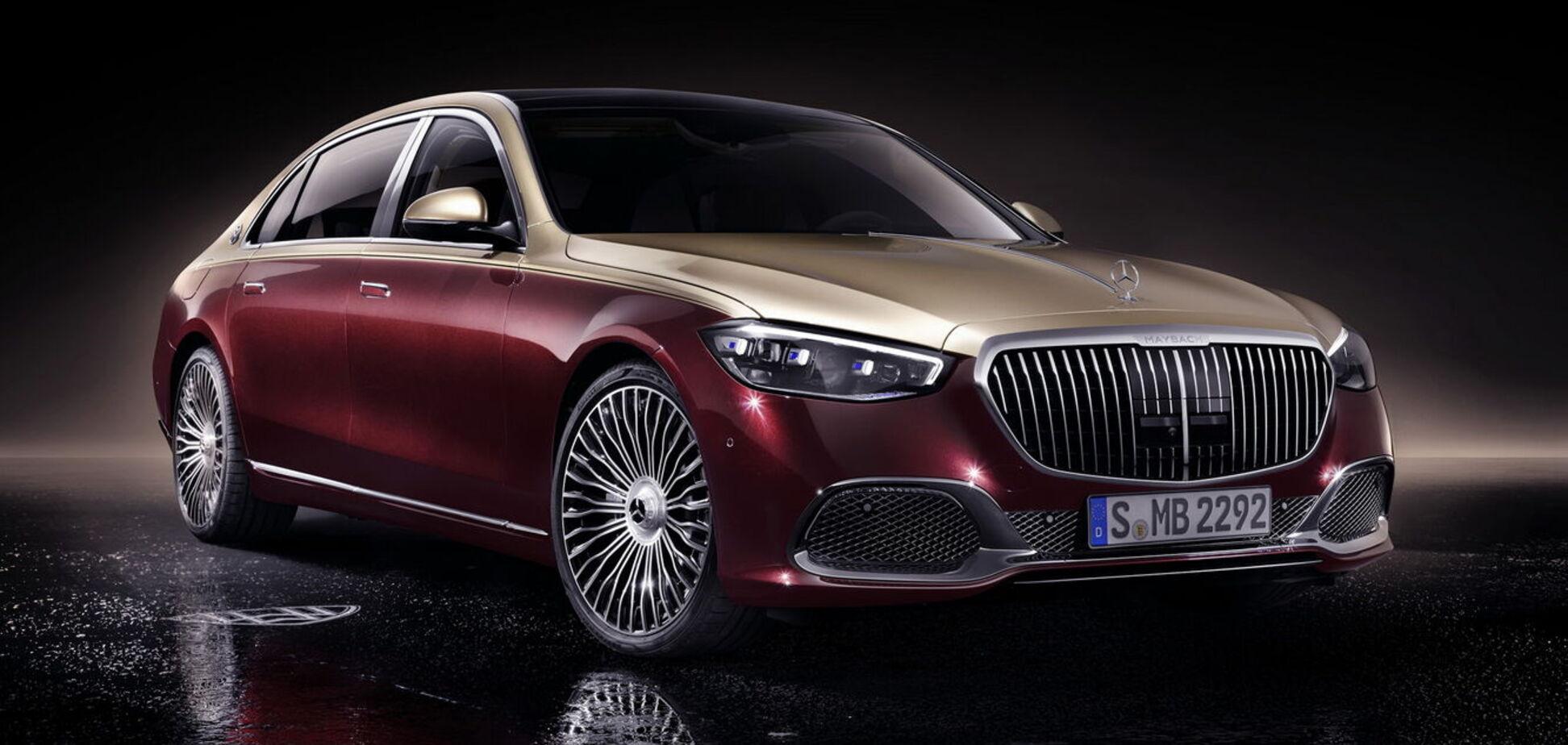 Mercedes-Maybach нового поколения презентовали в Штутгарте