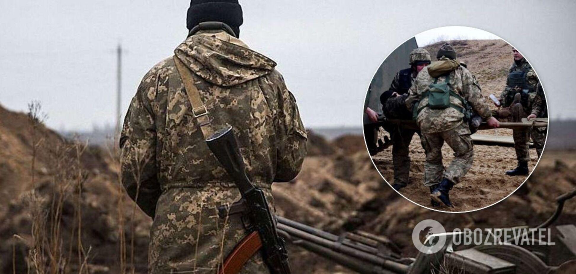 На Донбасі поранений воїн ЗСУ (ілюстрація)