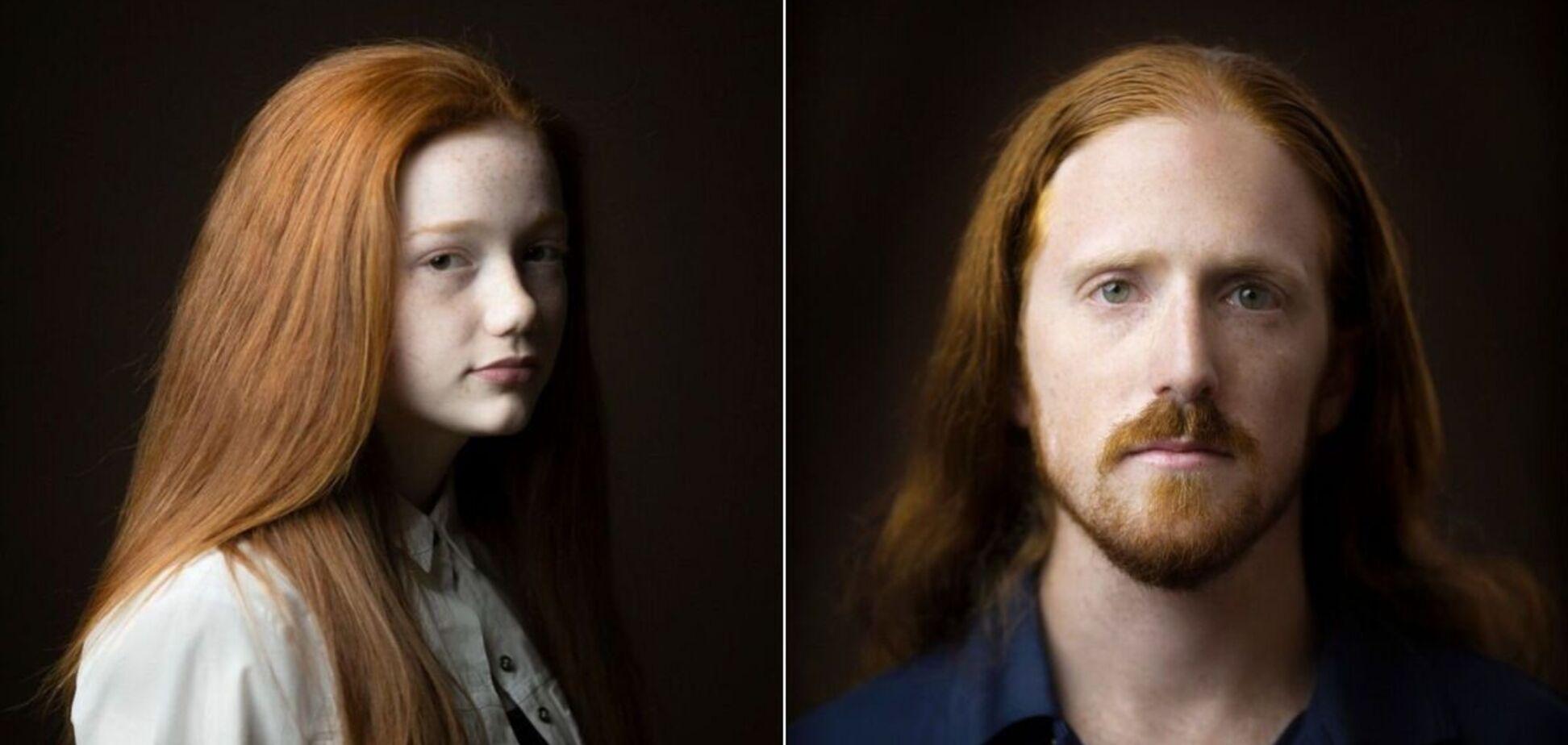 Киран Доддс показал снимки рыжеволосых людей, которые делал по всему миру