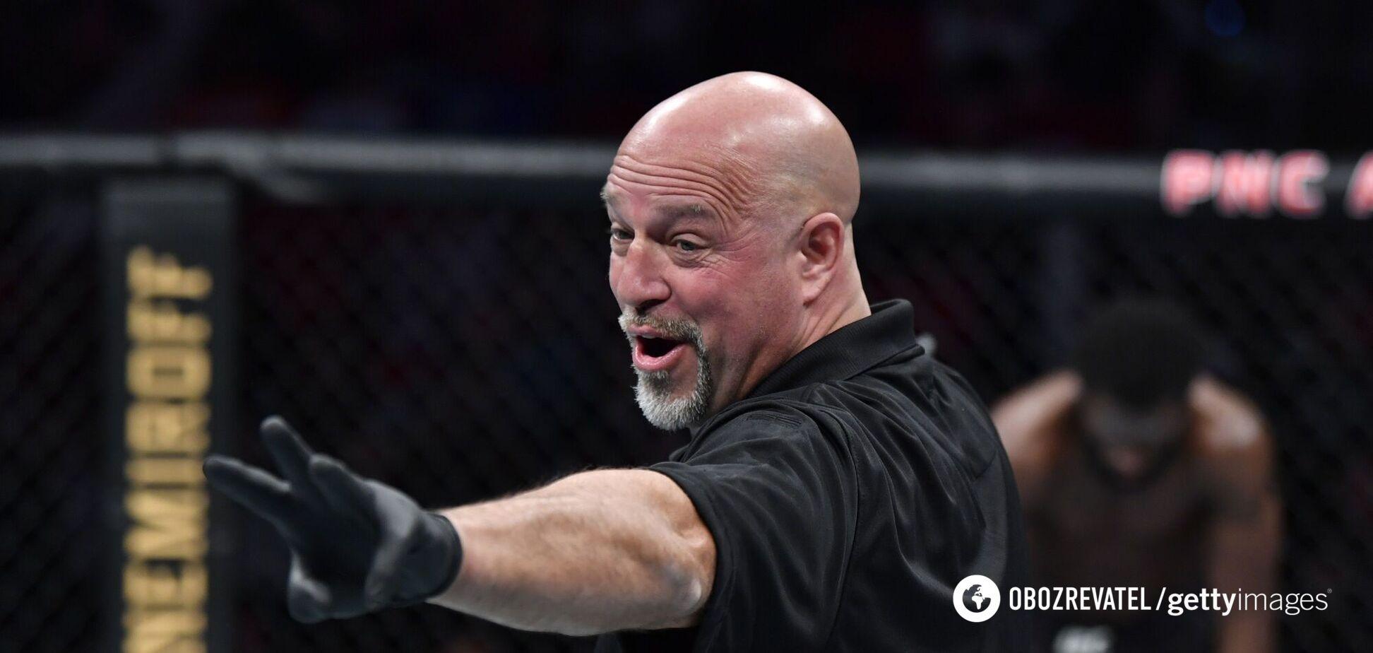 Судья UFC