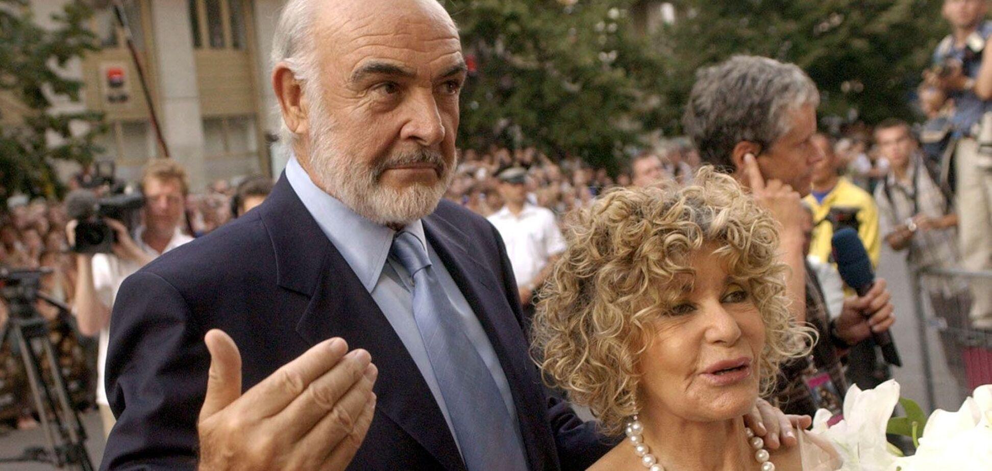 Вдова померлого Шона Коннері назвала причину його смерті