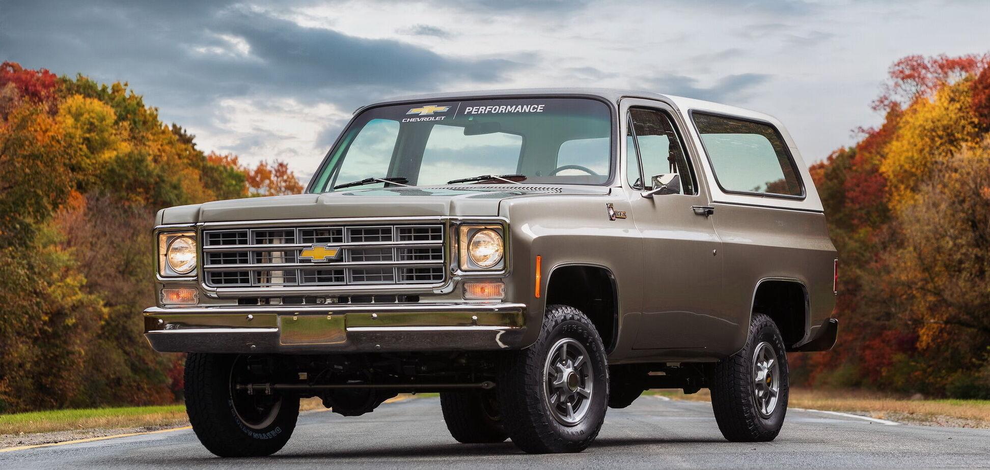 Chevrolet показав електричний ретропікап