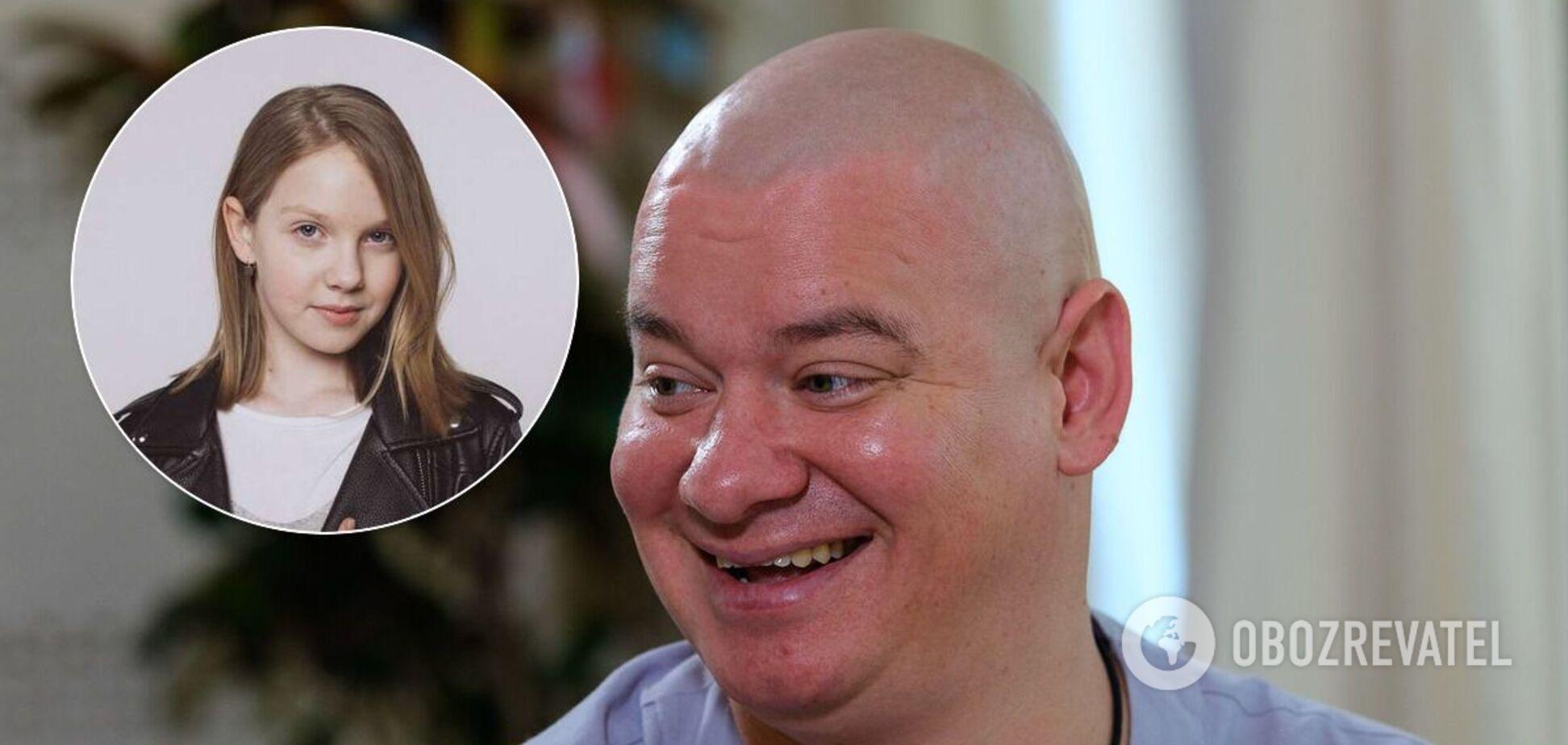 Евгений Кошевой с дочкой Варварой