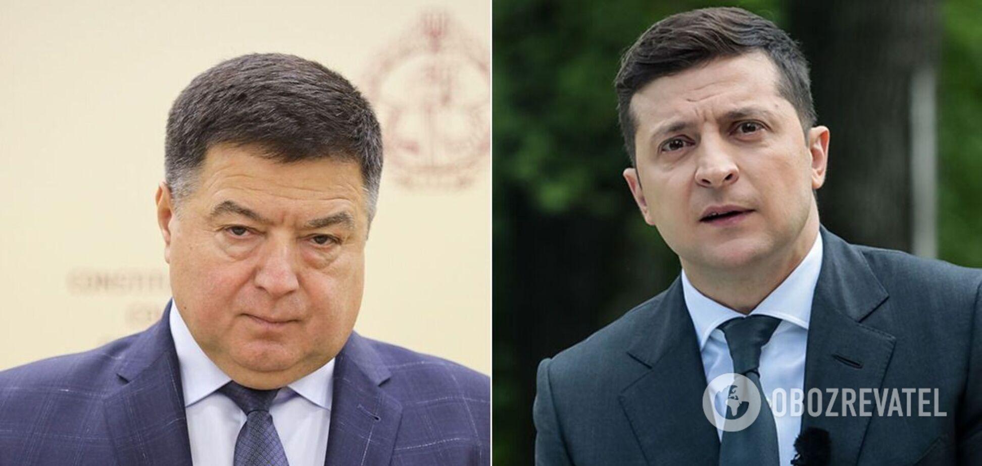 Тупицкий и Зеленский