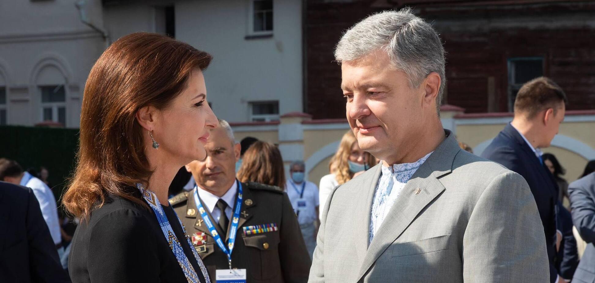 Петро Порошенко розповів історію кохання з дружиною