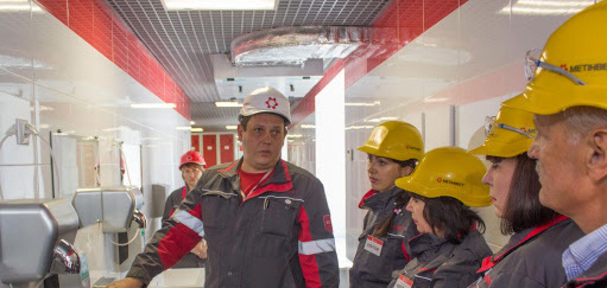 На предприятиях 'Метинвеста' внедрен системный подход к охране труда