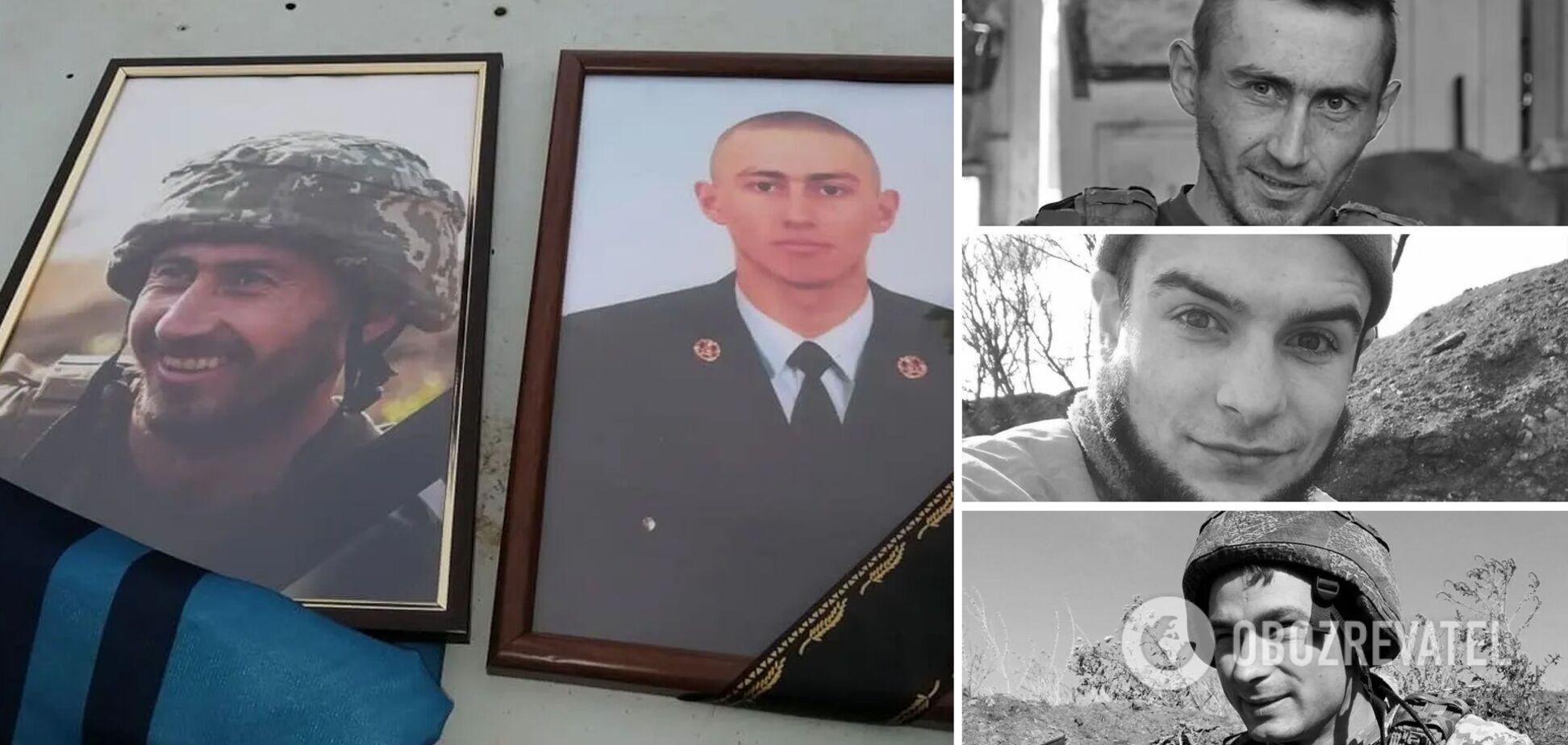 Верные Украине навсегда: погибшие герои октября 2020-го. Фото и истории
