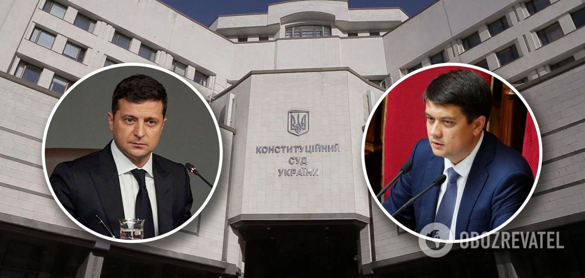 Конституционный кризис в Украине: Зеленский и Разумков поставили 'слуг' перед сложным выбором