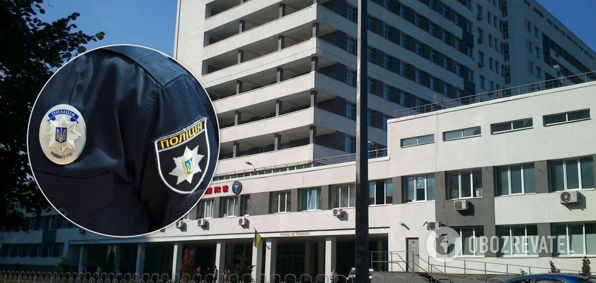 Самоубийство произошло в Киевской больнице №12