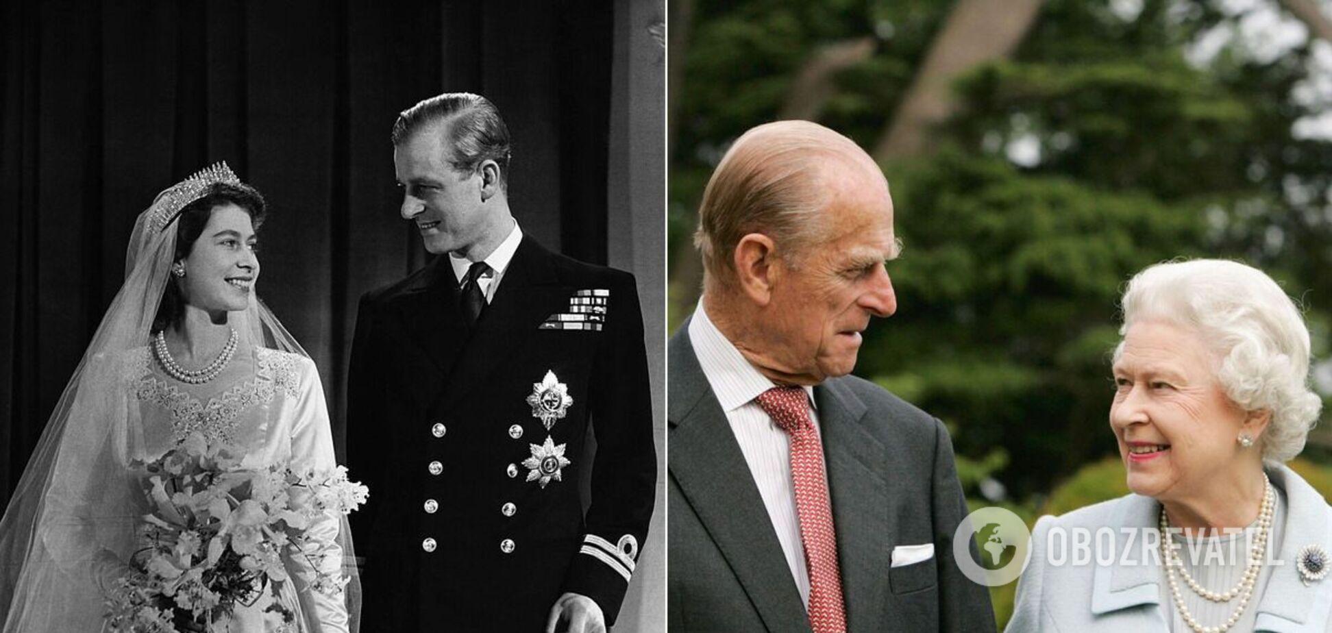 Королева Єлизавета і принц Філіп