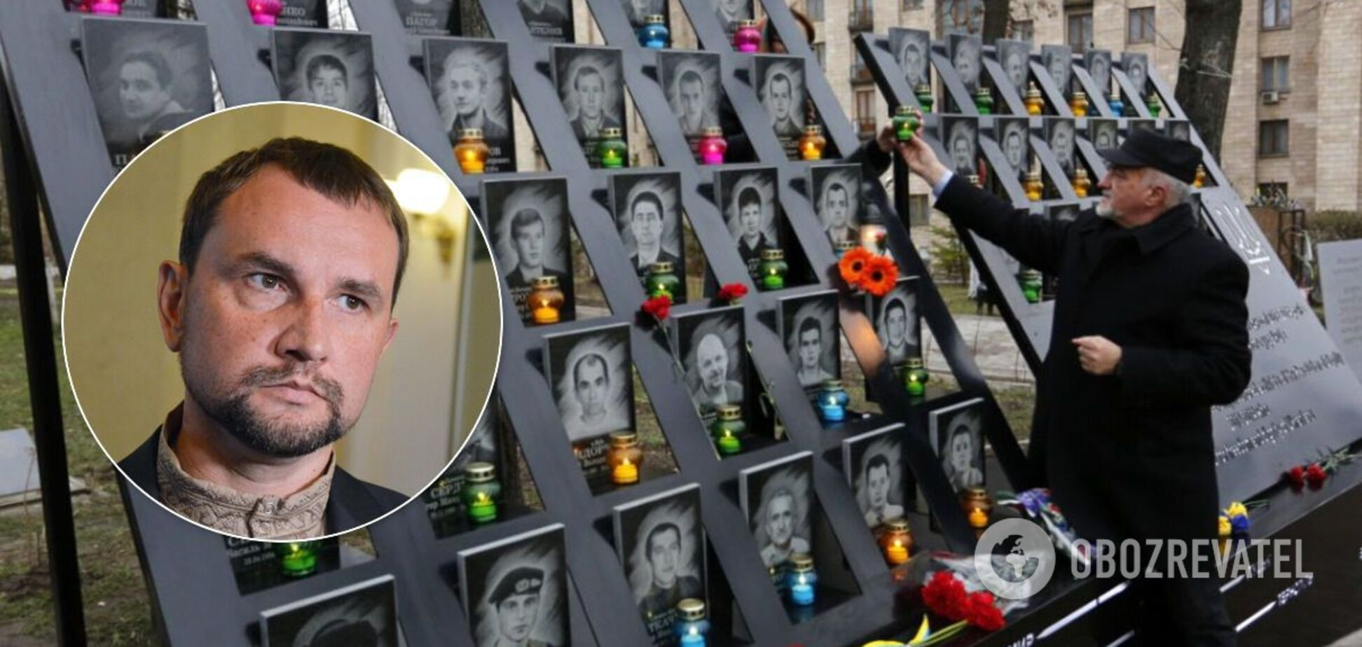МеморіалнаАлеї Героїв Небесної Сотні не встановили через рішення суду,– В'ятрович