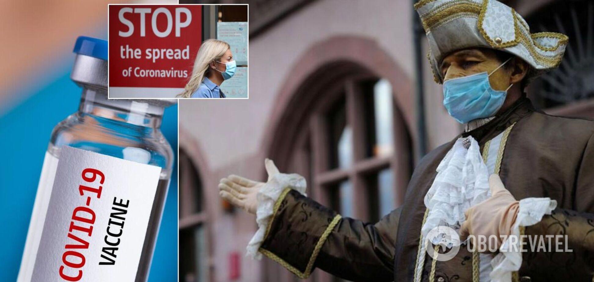 Коронавирус сегодня в Украине и мире
