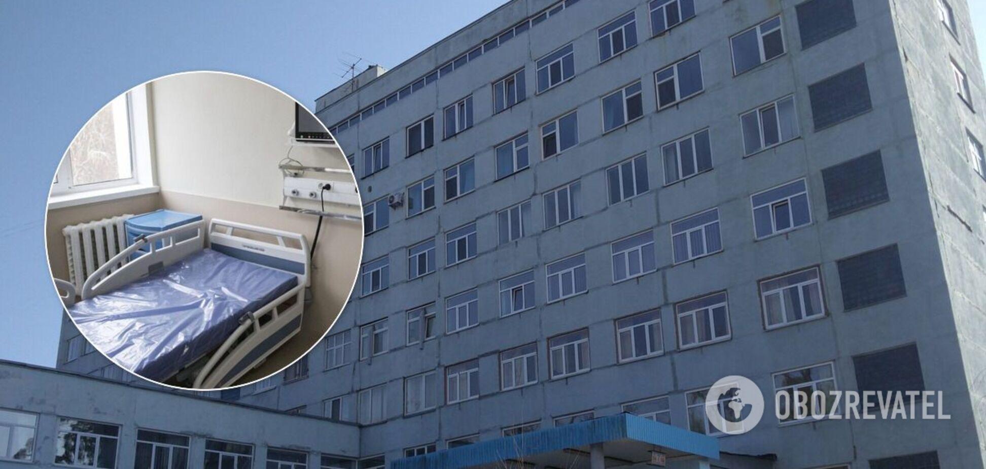 В больнице уже обустроили 140 коек для лечения больных COVID-19