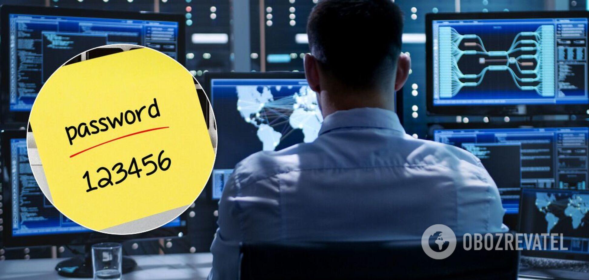 Названы самые легкие для взлома пароли в 2020 году