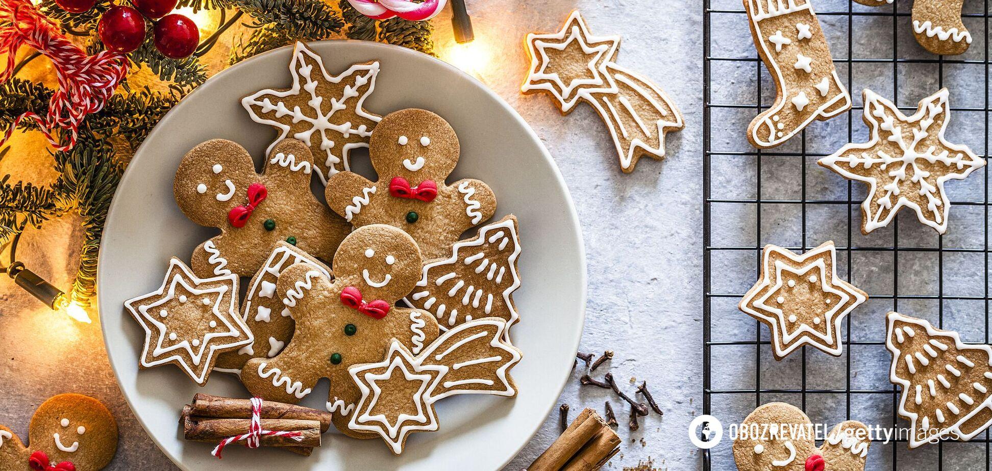 Новогодние и рождественские сладости
