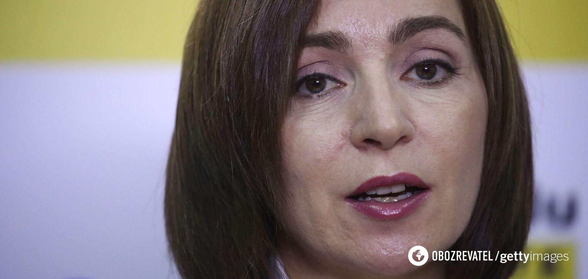 Санду виступила проти федералізації Молдови