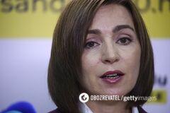 Санду выступила против федерализации Молдовы
