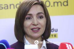 Санду официально признали избранным президентом Молдовы