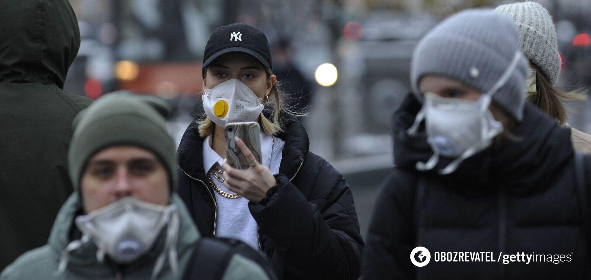Лікар спрогнозував пік епідемії коронавірусу в Україні на січень-лютий