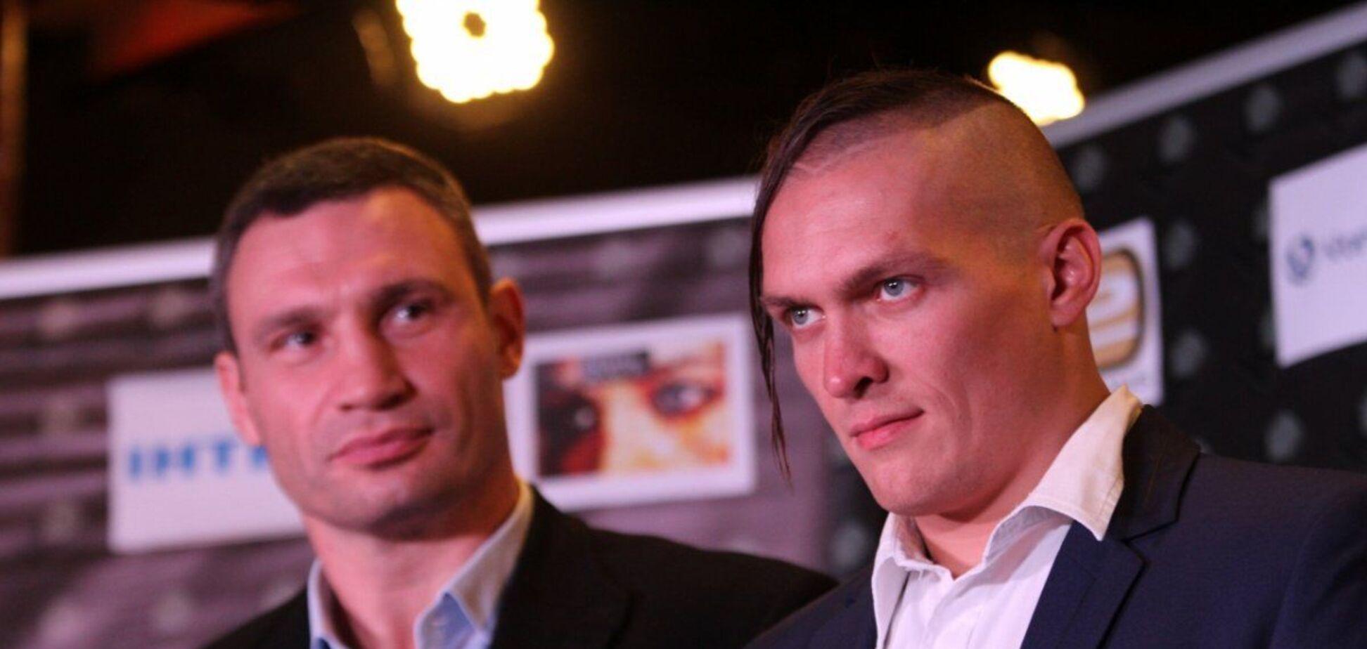 Виталий Кличко и Александр Усик