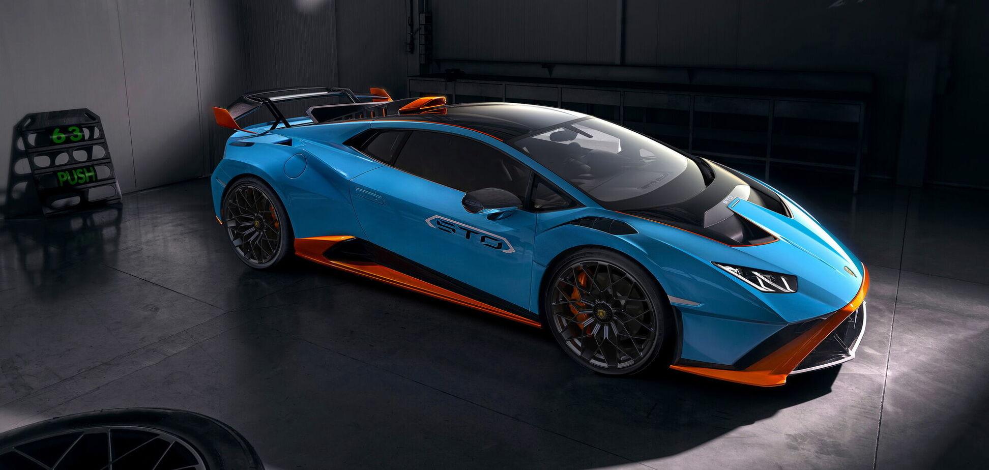 Lamborghini вывел на дороги гоночный болид за 250 тысяч евро