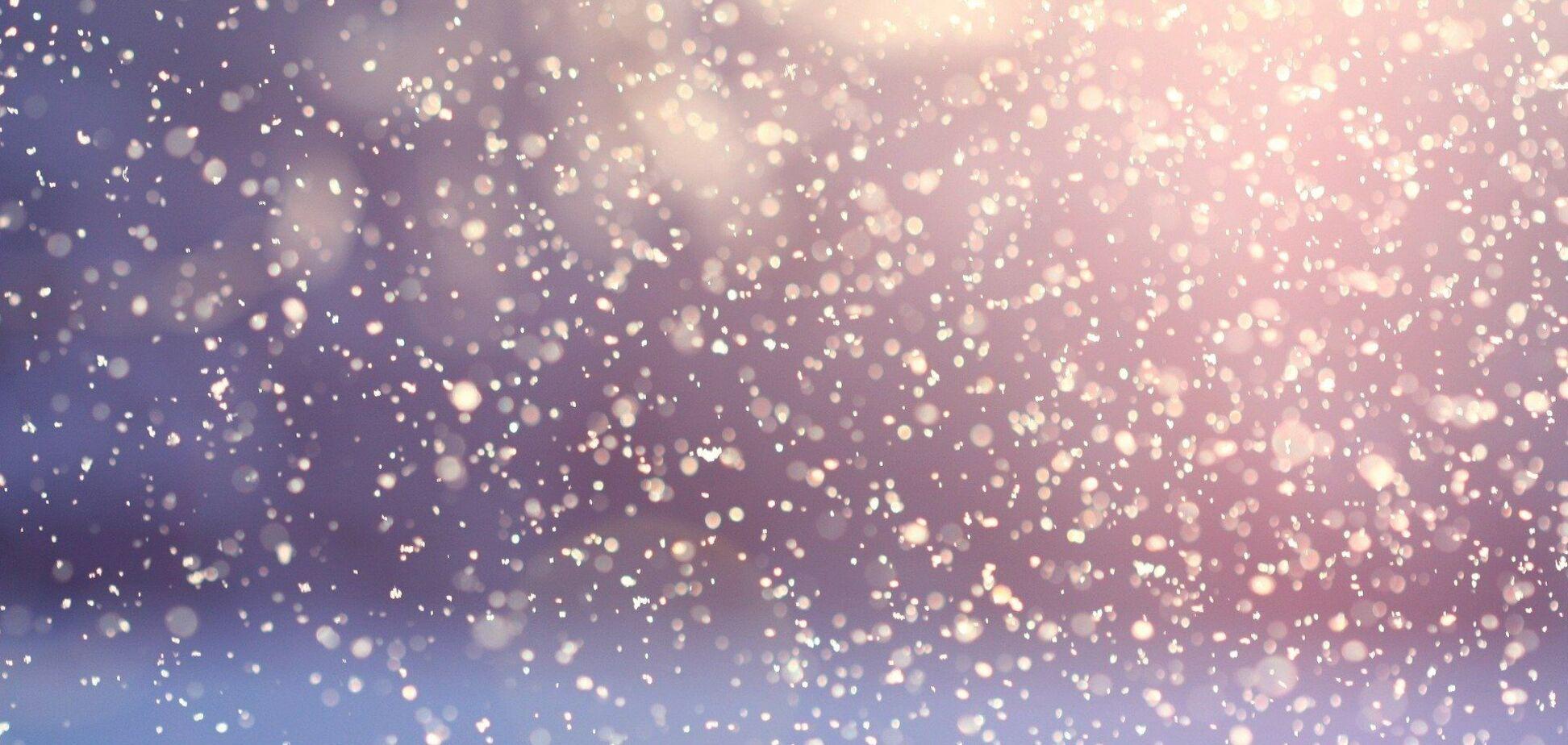 В субботу в Украине пойдет снег