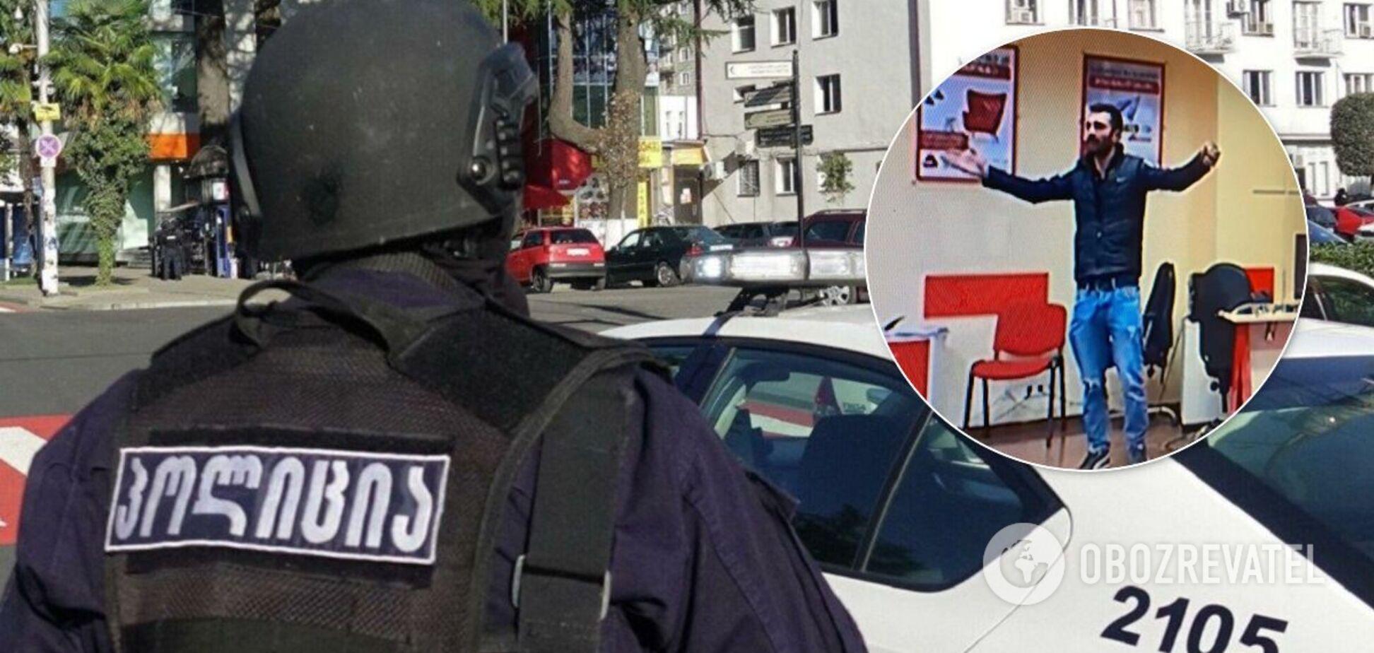 Террорист в Тбилиси озвучил требования