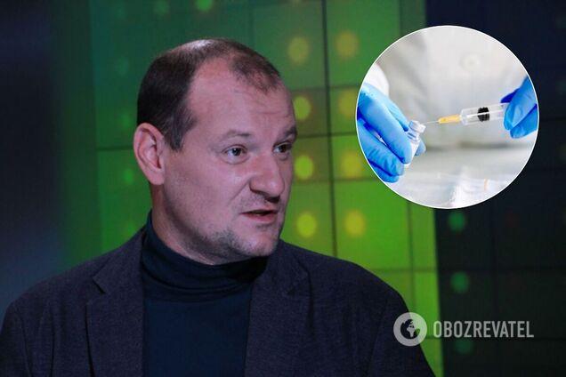 Україна отримає 8 млн доз вакцини, але в аптеках її не буде, – професор Дубров