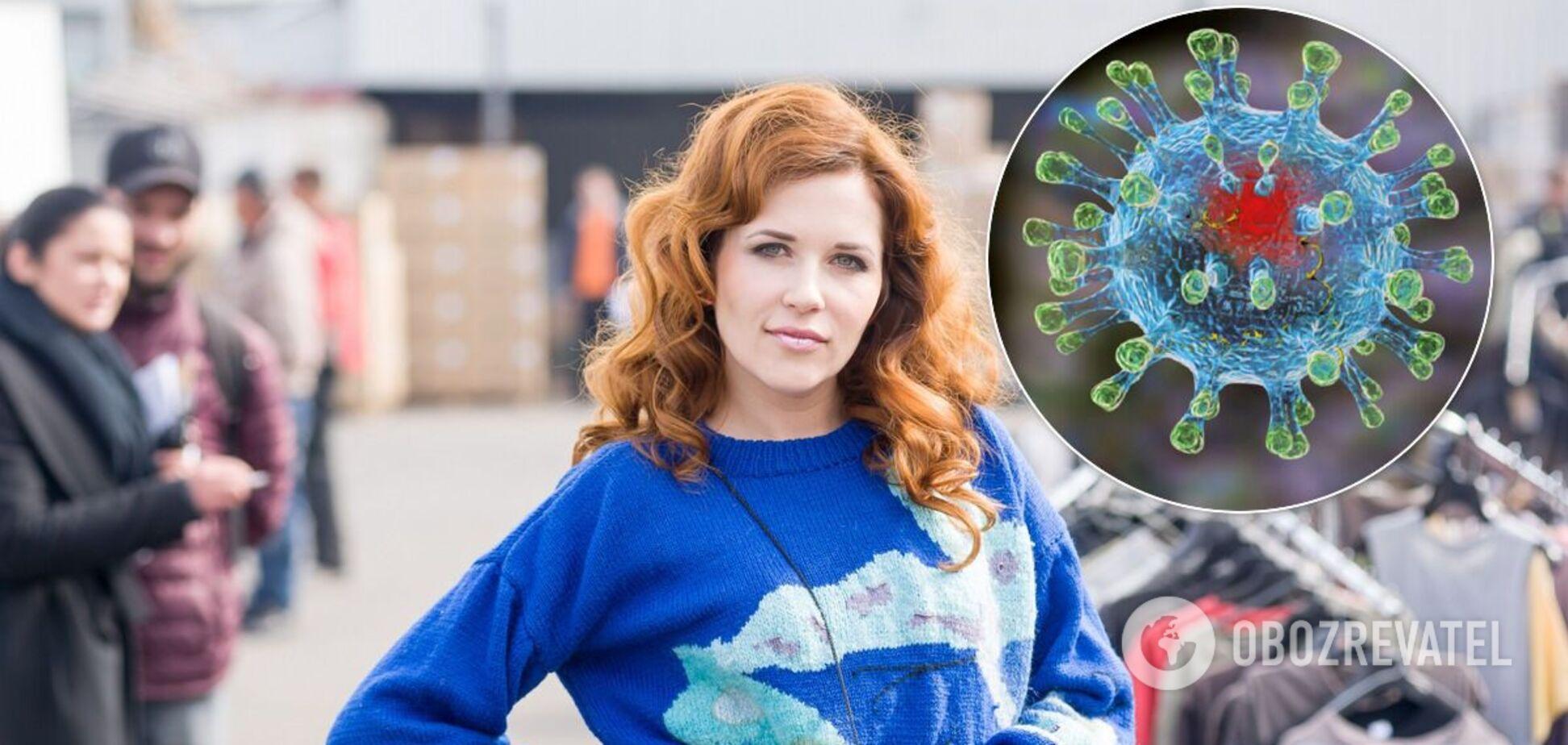 Ми в пекельному стані, вірус хитрий і небезпечний, – українська актриса про боротьбу з COVID-19