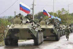 Россия ввела свои войска на территорию Украины в 2014 году