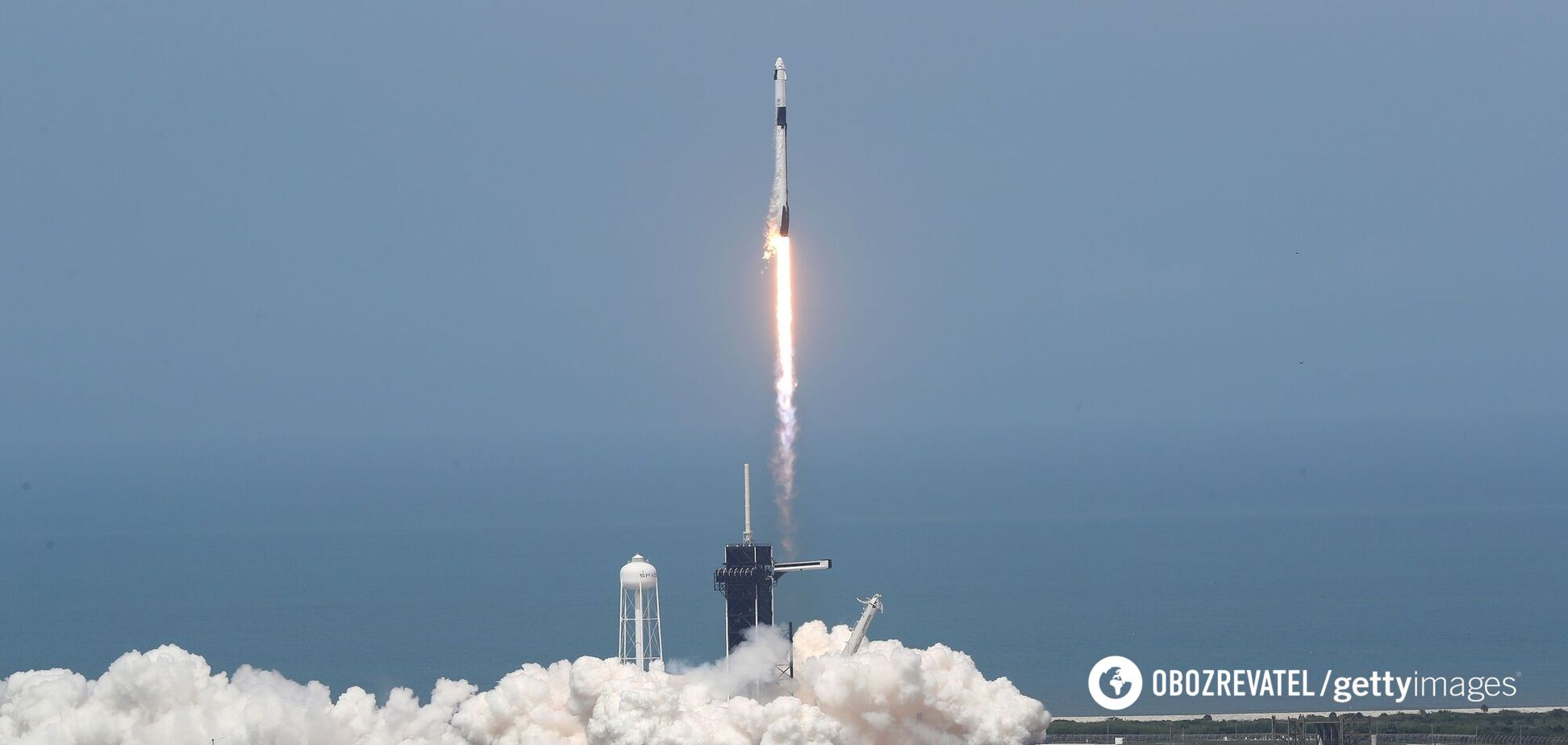 SpaceX запустила Falcon 9. Видео