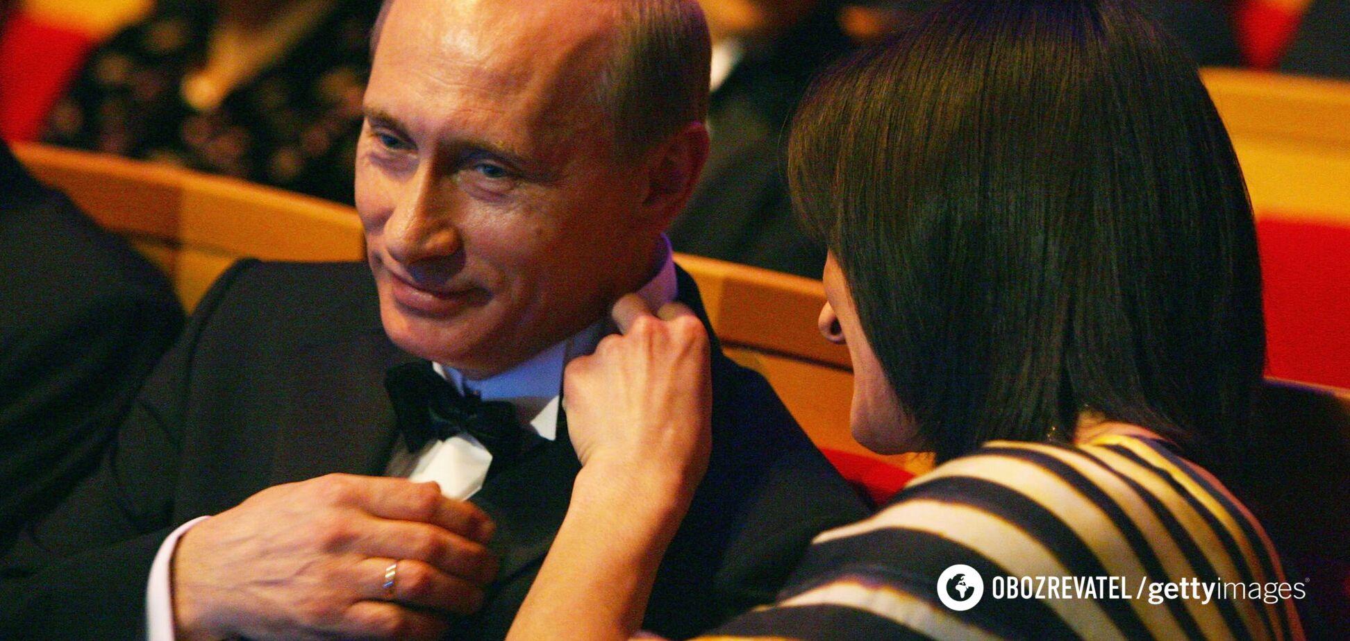 Путін і Ісінбаєва