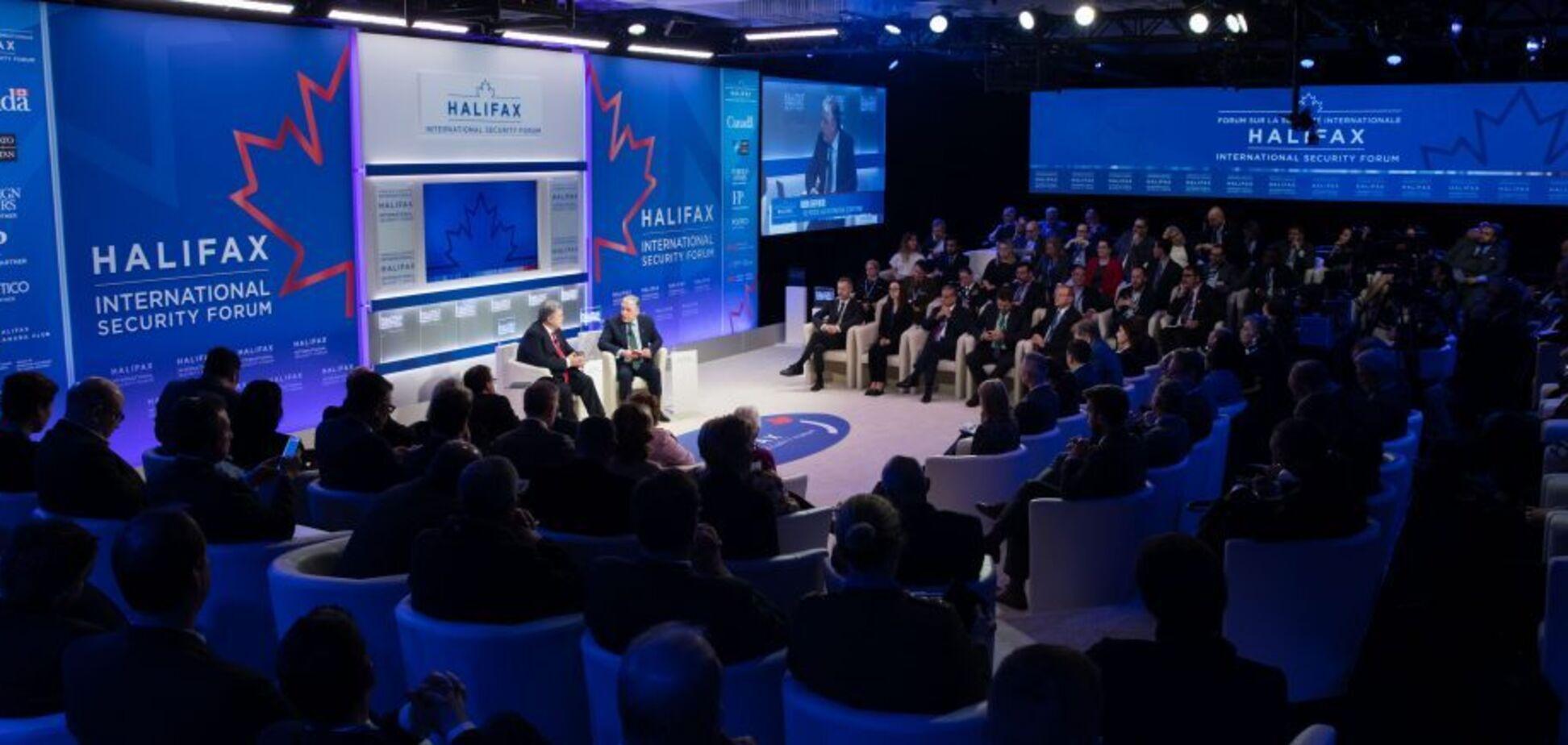 Петр Порошенко примет участие в форуме безопасности в Галифаксе