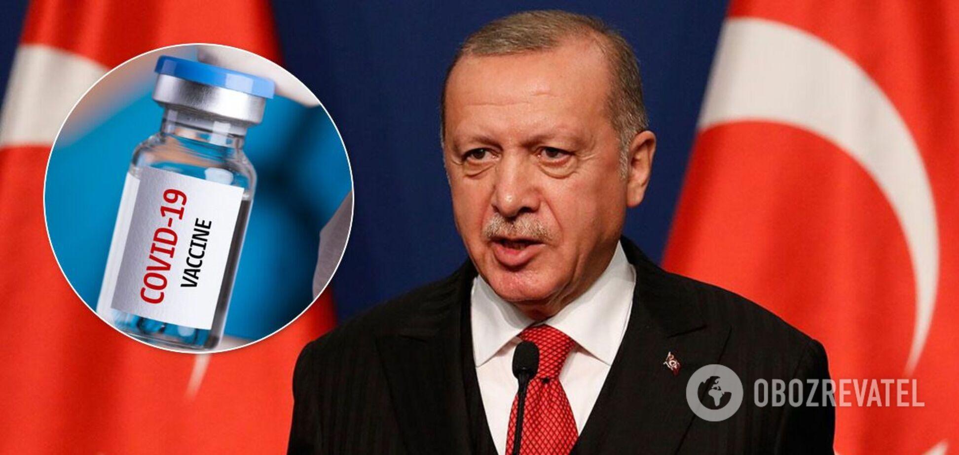 Эрдоган пообещал вакцину от COVID-19 всему миру